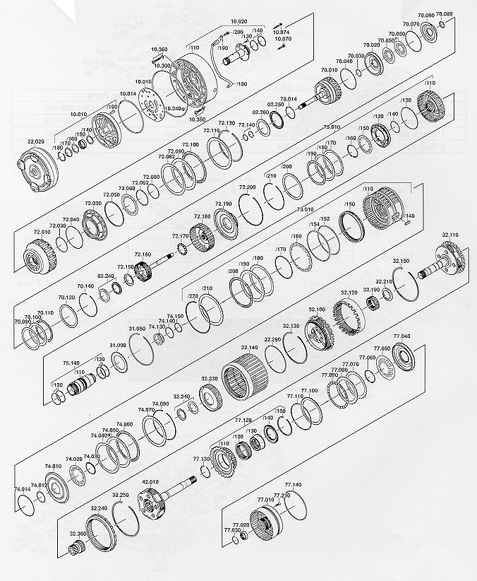 K04 And Torque Converter Archive